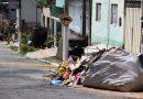 Moradores da Regional Sul de Timóteo reclamam do acúmulo de lixo e entulho nas ruas