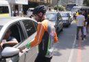 Blitze conscientizam sobre Maio Amarelo, por trânsito mais seguro