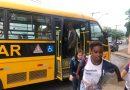 A quinta-feira foi festiva na APAE de Timóteo. PMT fez a entrega de um ônibus adaptado