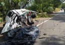 Motorista morre em acidente entre carro e caminhão na BR-381, em Timóteo