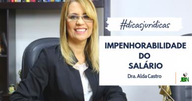Dicas Jurídicas com a Advogada Alda Castro