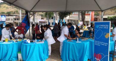 O sábado foi de ação em Saúde na Regional Sul em Timóteo