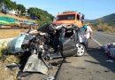 Um grave acidente com morte foi registrado nesta terça-feira em Timóteo
