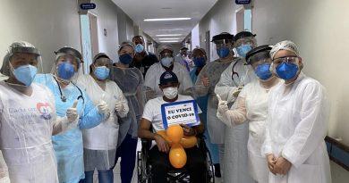 Ipatinga comemora o número de curados da Covid-19. 68,9% dos casos positivos
