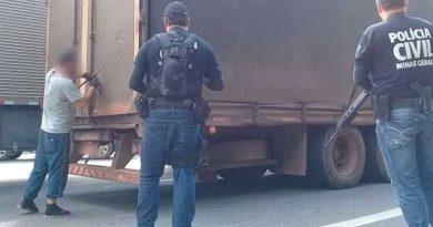 Polícia Civil desarticula associação criminosa de roubo de cargas